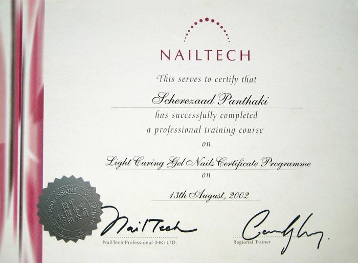 Scherezaad S Paaws N Claaws Certificates